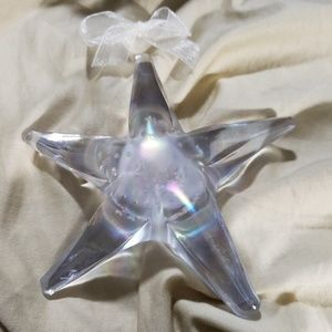 Vintage collector's Silvestri Iridescent Starfish